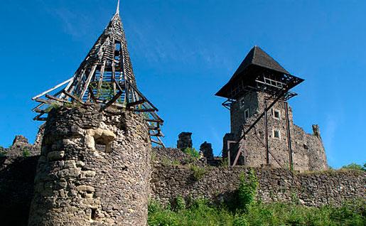 Башни невицкого замка