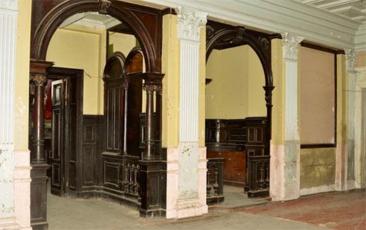 Интерьер дворца Кенига