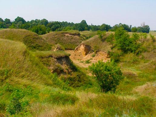 Метеоритный кратер, Ильинцы