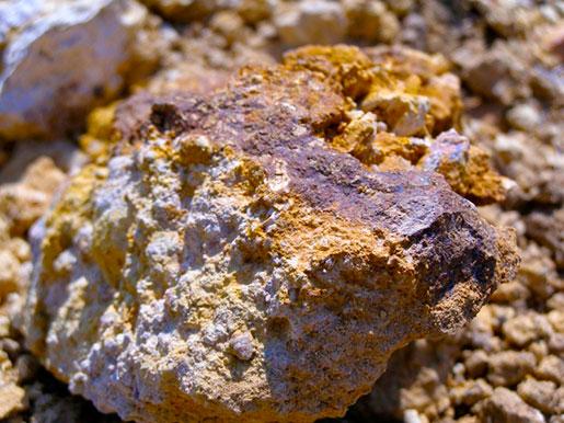 Осколок метеорита в Ильинцах