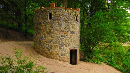 Башня в дендропарке