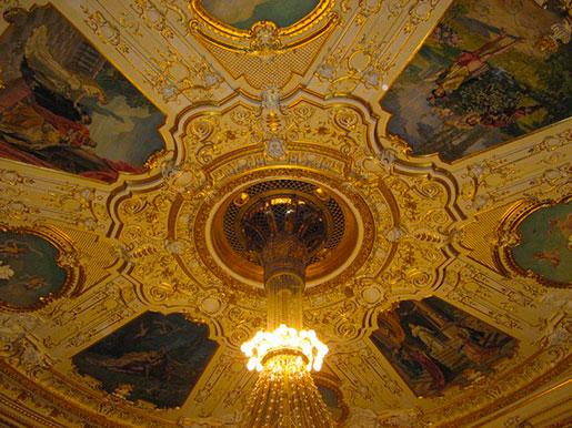Потолок театра