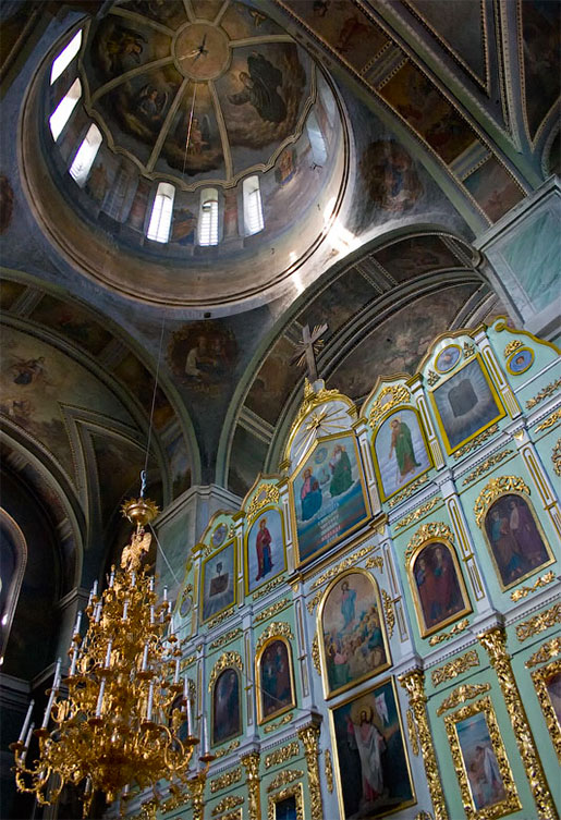 Ильинский монастырь - иконостас