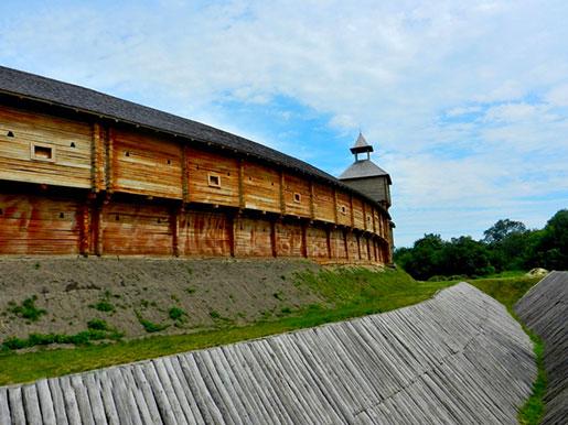 Ров Батуринской крепости