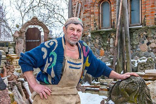 Скульптор Николай Головань