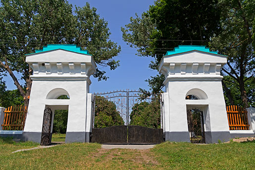 Ворота дворца Галаганов