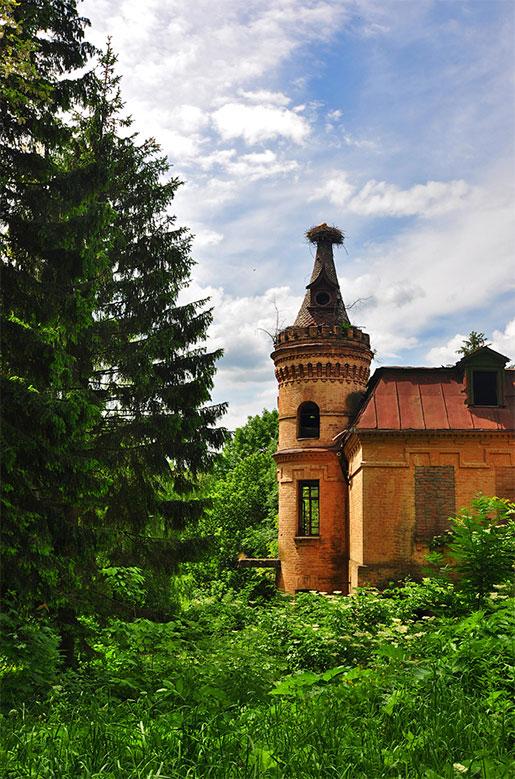 Дворец Уваровой, Турчиновка