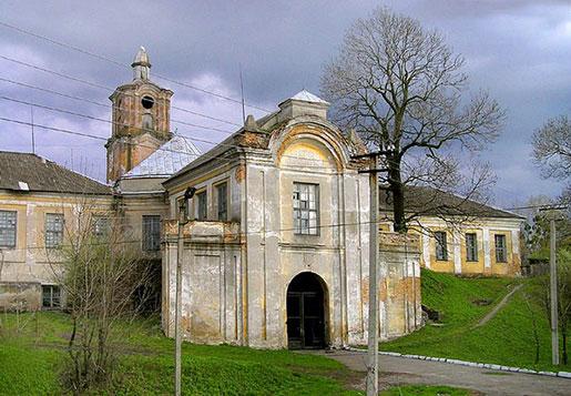 Замок Радзивиллов, Олыка