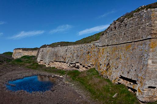 Арабатская крепость, Соляное