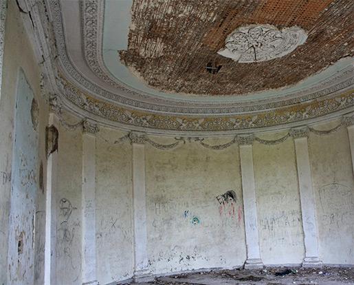 Одна из комнат дворца Чацкого
