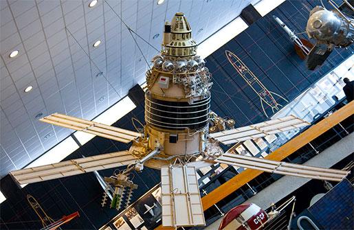 Спутник в музее космонавтики