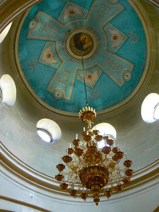 Подкупольное пространство собора