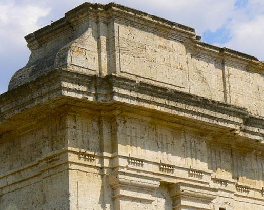 Елементы фасада херсонской крепости