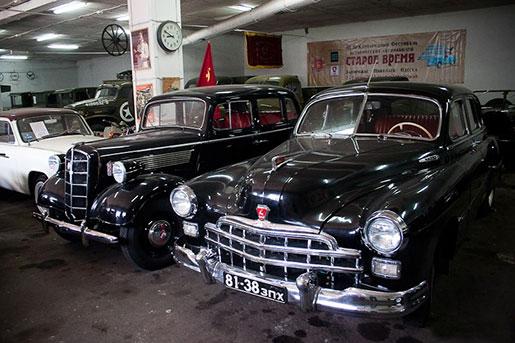 Музей ретро-автомобилей, Запорожье
