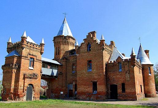 Замок Попова, Васильевка