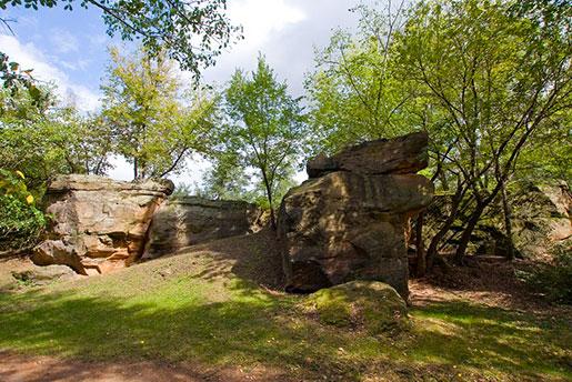 Парк, Замковая гора