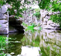 Маленький фьорд в сердце Украины — Букский каньон