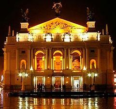 Львовский оперный театр