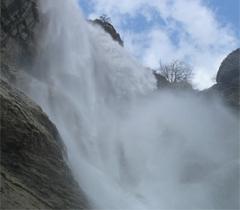 Водопад Учан-Су – самый высокий на Украине