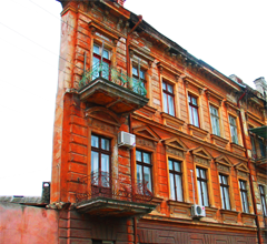 Плоский дом Дом-стена или Ведьмин дом